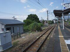 ●JR三河東郷駅  あ~早く豊橋で水を買いたい…(笑)。 ちょっといい教訓。 コンビニを期待できない地域では、自動販売機は要チェック。 特に夏場は。