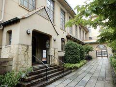 124年の歴史に幕を下ろした旧明倫小学校    (残っているこの建物は昭和6年に建て替えられたもの)