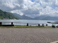 いよいよ奥日光に到着。中禅寺湖がきれいです。