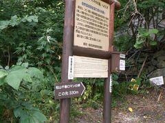 この先に松山千春の歌碑があるとか。