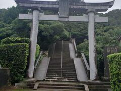 お次は猿田神社へ。  おっと!階段多め(´ω`٥)…膝腰ヤバイけど、 無病息災守を拝受したので行けそう!
