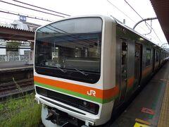 八高線で東飯能へ 久しぶりの八高線、電車が随分新しくなった。