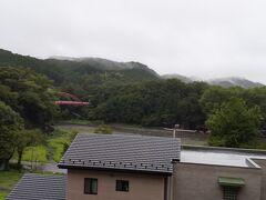 飯能河原展望台からの風景