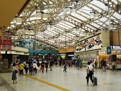 まずは上野駅からスタート☆ 東北新幹線は東京駅が始発ですが、隣の上野駅の方がホームが広くて快適です。  まずまずの人流~。笑