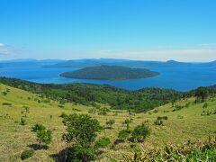 展望台からは、屈斜路湖を見渡すことが出来ます。