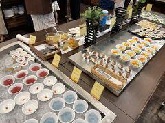 8/9 北海道旅行3日目。十勝川温泉第一ホテルの朝食ビュッフェ。