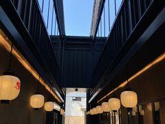 そういえば、梅小路ポテルってオープンしてからチェックしてないからチラッと見学。ホテルのカフェはカジュアルで気軽にお茶とかできそうな雰囲気でした。こちらは梅小路横丁。 https://www.potel.jp/kyoto/