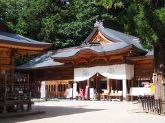 そして、駅近くの穂高神社に立ち寄り。。