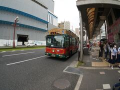 バスで天文館へ