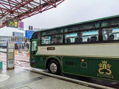 と言うことで、室蘭行きの高速バスに乗車。