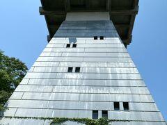 岩瀬大町通りをチャリでブラブラした後に向かったのは 「富山港展望台」