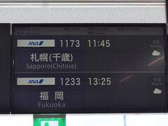 1日目です。  出発は小松空港から。まずは新千歳空港に向かいます。新千歳まではNH1173、シップはエアバスA320neoです。シップは定刻よりやや早く小松空港を出発しました。