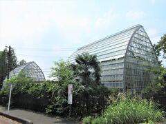 「大崎公園」と見沼代用水を挟んで「大崎園芸植物園」があります。 「クリーンセンター大崎(清掃工場)」の余熱を利用した温室もあって、一年中熱帯植物も見られます。入園無料。