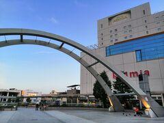 久しぶりに来た、豊橋駅。 新幹線・JR在来線・名鉄・豊鉄が集まっています。