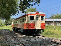 もともとここに相生線の北見相生駅があったようで、ディーゼルカーや客車が展示されていました。