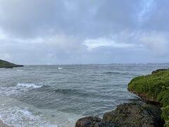 ●2021/7/27(火)  今日はパナリへのシュノーケリングツアーです。 海況が気になったので朝一で宮里海岸へ。 台風の余波でまだ少し波高いけど大丈夫そうです。