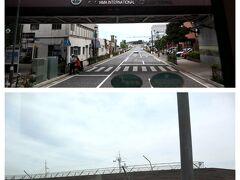 バスは曲がって横浜港大さん橋国際客船ターミナルへ。 わ~、ココって来たこと無いんだよね。 いつもみなとみらいに泊まるので、そこからも綺麗な夜景が臨めるし、妙に中途半端な場所にあるから、わざわざ行くのが億劫で… でも、横浜の夜景を見るならココ!!!って絶対な場所だから、一度は行かないとなぁ~。って気持ちになった(笑)