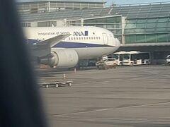 帰りはANA便で羽田空港まで向かいますー
