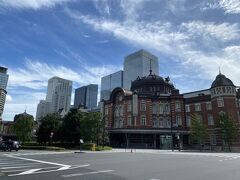 今回は東京駅からのスタート。