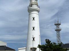 犬吠埼の灯台。 明治7年に造られた西洋型の灯台。 2020年に国の重要文化財に指定されました。 今は緊急事態宣言のため中に入ることはできません。