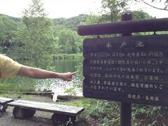 木戸池です