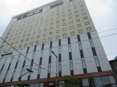ホテルは大街道の駅からすぐだったのでとても良かったです