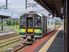 ▽8月19日(木) 2日目(続き) ウポポイ観覧を終えて、白老駅から列車で移動。