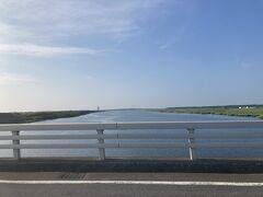 天塩川の橋を渡ります!雄大すぎる光景に大感動!