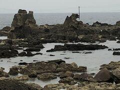 男鹿半島に来る機会があれば、一度は見たいと思ってた「ゴジラ岩」!