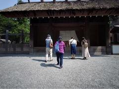 伊勢神宮外宮のお参りです。