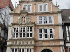 こちらの建物は現在ハーメル郷土博物館 本来なら5ユーロの入場料がかかるがただいま入場料無料(2021年8月現在)