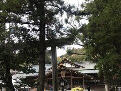 遠目の写真しか撮ってなかったけど、猿田彦神社です。  ここは是非来たかった。