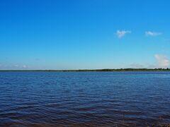 そして、この旅行で最初に立ち寄った「道の駅ウトナイ湖」に戻ってきました。