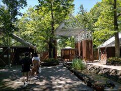 今回の長野へのドライブのもうひとつの目的がこちらの軽井沢タリアセン。南軽井沢にある塩沢湖の湖畔にある、自然とアート・歴史が融合した軽井沢を代表する観光スポットです。