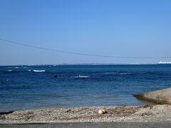 海沿いを歩いてみる。