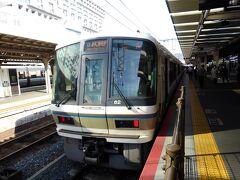 一駅だけですが、奈良線に乗り東福寺駅へ。