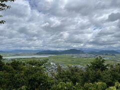 八幡山ロープウェイで山頂へ。八幡山からの眺望