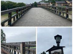 カーブミラーが面白い 梅の橋