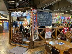 2階は屋台村になっており、海鮮料理店の「ブう~」に入ってみました。