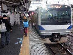 土浦駅で5両を切り離し、水戸駅で東京からの直通運転は終了、ここからは茨城から福島を進む常磐線ローカル電車となります。
