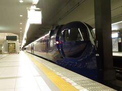 2021.07.24 関西空港 まだ18きっぷが効いているが、富裕層の私は南海電車のホームにやってきた。