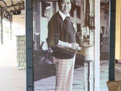 石原裕次郎のパネルがある小樽駅へ