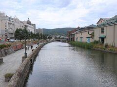なんのへんてつもない小樽運河