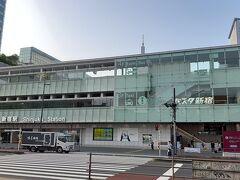 今回は路線高速バスを使って「バスタ新宿」からスバルライン富士五合目に向かいます。 06:45発の京王バスで現地に09:30過ぎに到着しました。