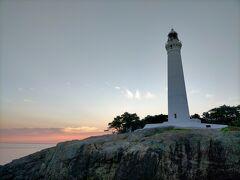 日御碕灯台の朝