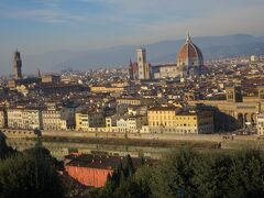 フィレンツェの美を一望できます。
