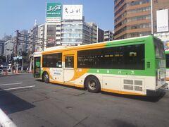 田町-渋谷 都営バス 田87 系統乗車