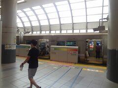 井の頭線 渋谷駅ホ-ム