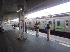 """*明大前/本線ホ-ム  新宿方面に「準特急」が来ます。""""笹塚""""止まる? 何しろ京王本線乗るのは 10年以上前です。"""