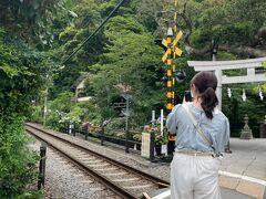 次に、長谷駅で降りて歩きました。長谷寺はあじさいが有名ですが駅から人が多かったので今回は見送りました。 ここは御霊神社です。